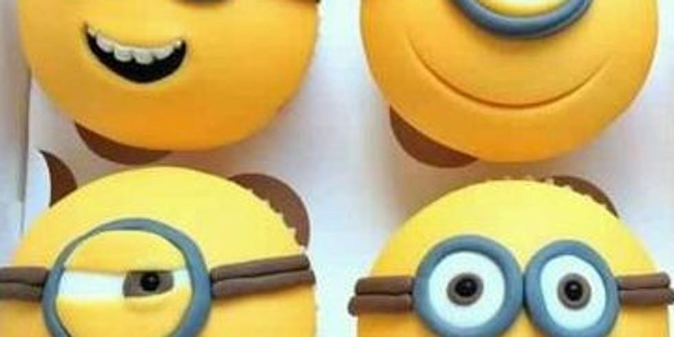 Summer cupcake decorating class - Minions theme
