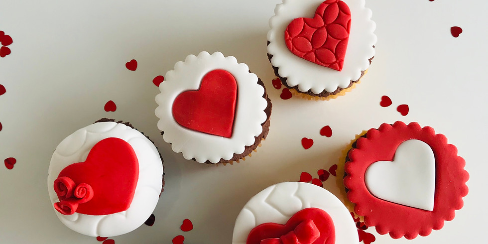 Cupcake decorating class - Valentine's theme FULLY BOOKED