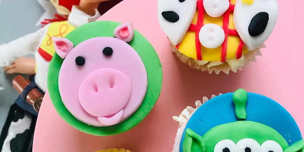 Cupcake decorating class - Toy Story theme FULLY BOOKED