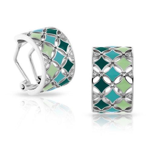 Belle Etoile Stardust Green Earrings