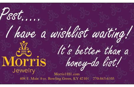 What's a wishlist?? It's a holiday must do!   Bowling Green, KY Fine Jewelry, Repair and Cus