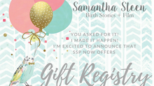 Gift Registry Launch! | Bowling Green, KY Maternity and Birth Photographer