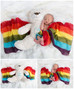 When it rains, look for the rainbow. When it's dark, look for the stars. Newborn Rainbow Baby, L