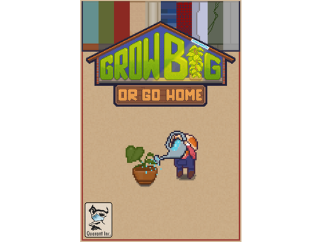 Revealing our Box Art for Grow Big (or Go Home)!