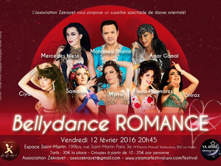 BELLYDANCE ROMANCE Vendredi 12 février