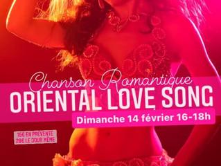 Stage Oriental Love Song dim 14 février 16h