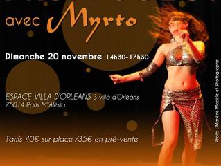 Stage DRUM SOLO Dimanche 20 novembre