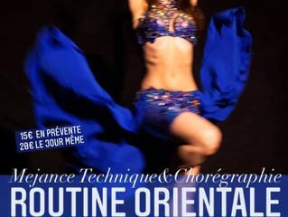 Stage online ROUTINE ORIENTALE Dimanche 10 janvier 16-18h
