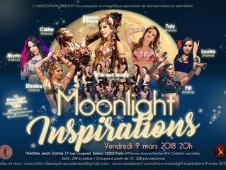Moonlight Inspirations vendredi 9 mars