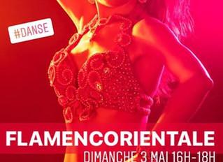 Stage FLAMENCORIENTALE 3 mai 16h-18h