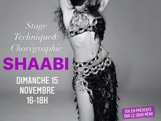 Stage Shaabi online dimanche 15 novembre 16h