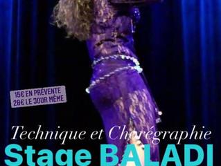 Stage BALADI online dimanche 11 avril 18h