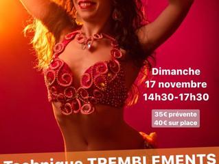 STage TREMBLEMENTS+BRAS et MAINS 17 novembre
