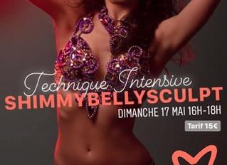 Stage Technique Intensive Shimmy Bellysculpt 17 mai