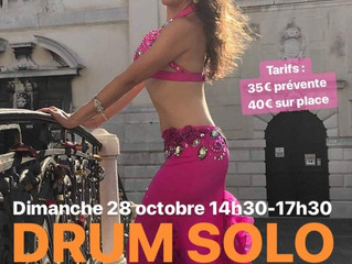 Stage DRUM SOLO 28 octobre