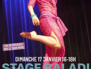 Stage en ligne BALADI Dimanche 17 janvier  16-18h