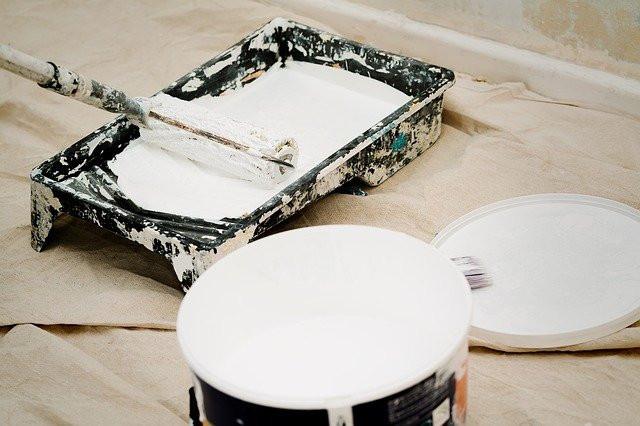 peinture sur vitrolles