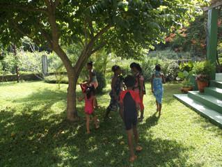 Chasse aux œufs à La Villa Bois Rose