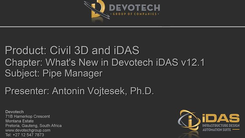 What's New in Devotech iDAS v12.1