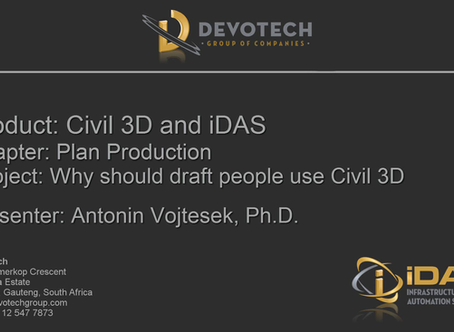 Why should draft people use Autodesk Civil 3D?