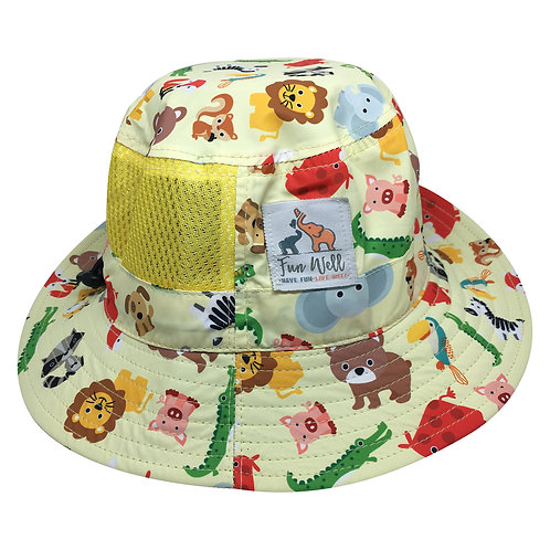 UPF/SPF 50 Sun Hat ANIMALS