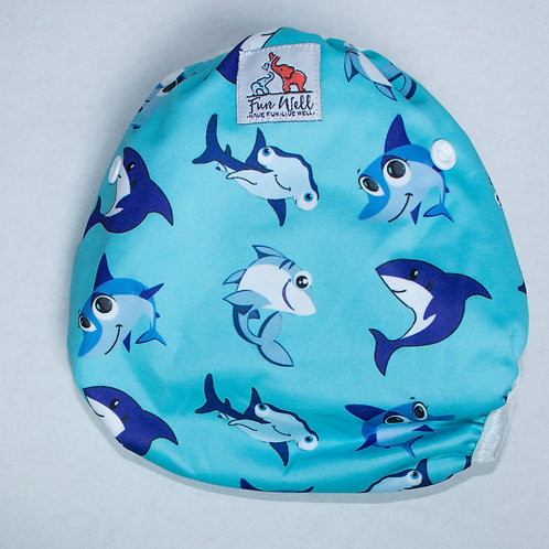 One Size Fits Most Reusable Swim Diaper BABY SHARK