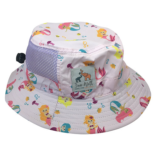 UPF/SPF 50 Sun Hat MERMAID