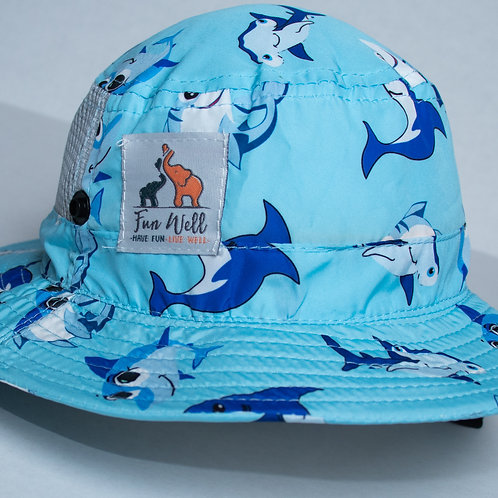 UPF/SPF 50 Sun Hat BABY SHARK