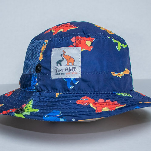 UPF/SPF 50 Sun Hat DINO