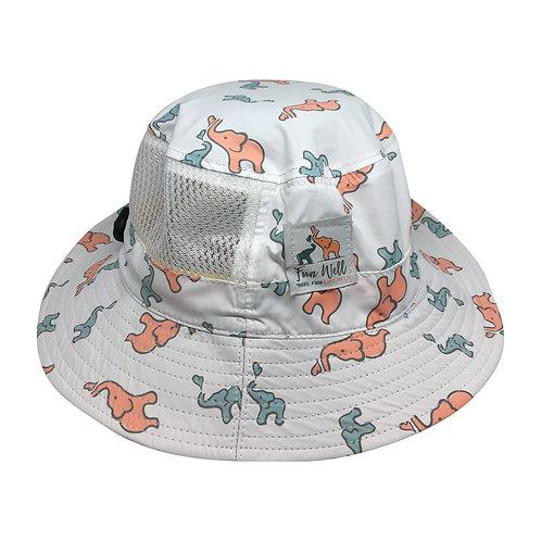 UPF/SPF 50 Sun Hat ELEPHANTS