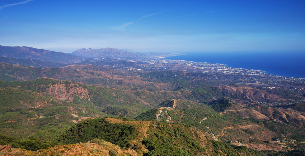 Los Reales towards Marbella
