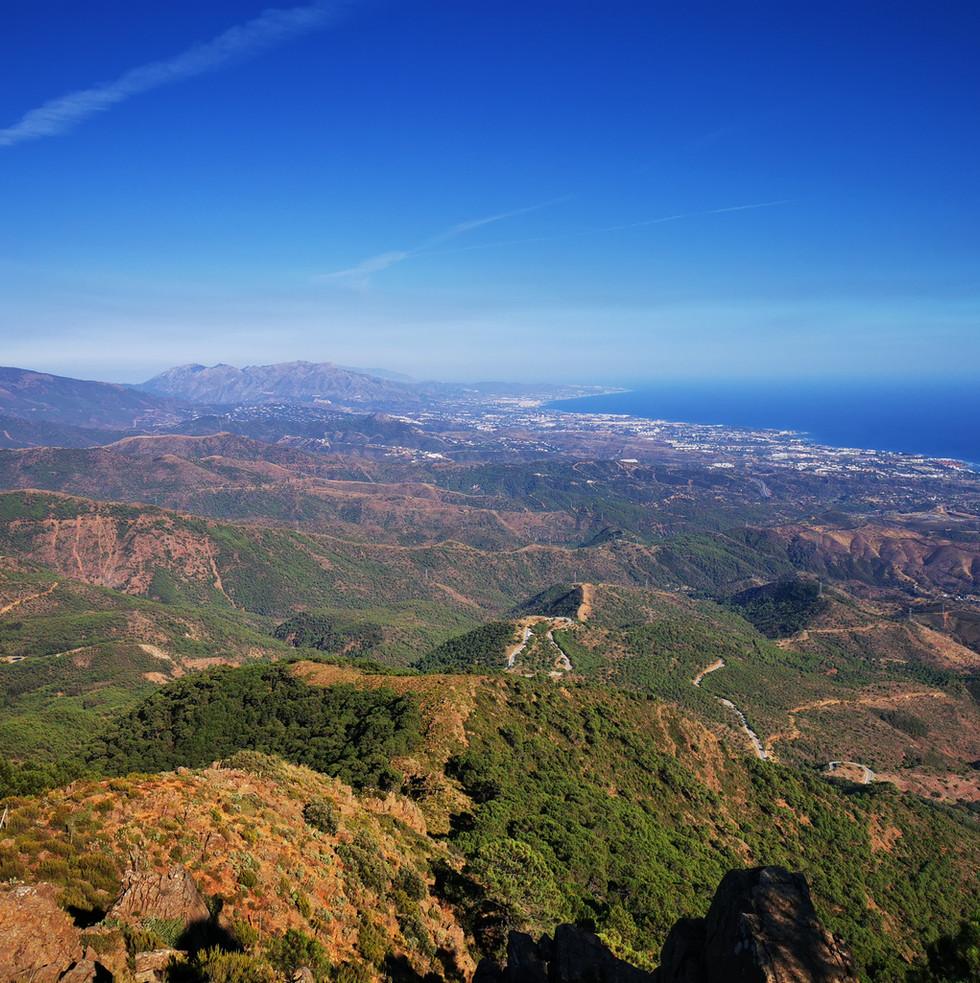 Los Reales towards Marbella