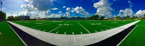 American Football Pitch, Miami