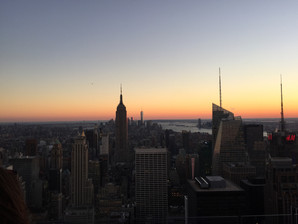 Sunset In NYC
