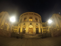 Old Parliment building, Oslo, Norway