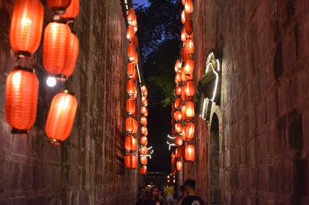 Street Lights, Chengdu