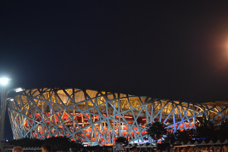2008 Beijing Olympic Stadium 'Birds Nest'