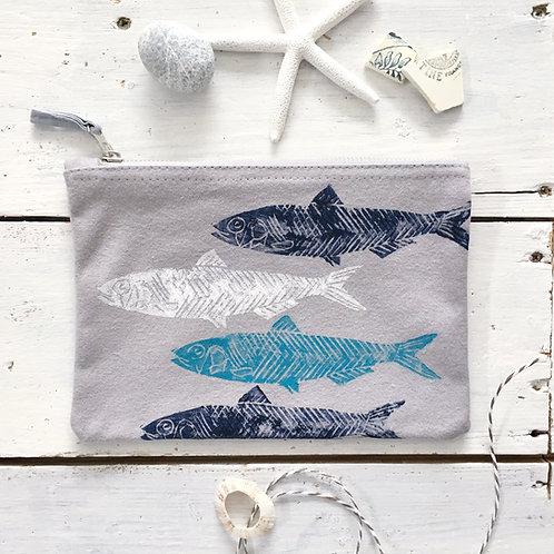Grey Small Fish Case