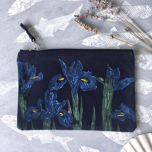 Navy Small Iris Case