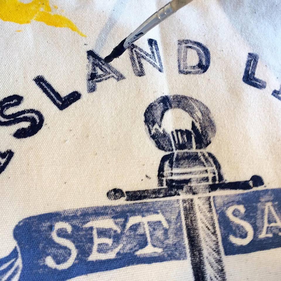 The Island Life Print