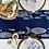Thumbnail: Navy Fish Shoal Table Runner