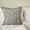Thumbnail: Grey Linen Iris Cushion