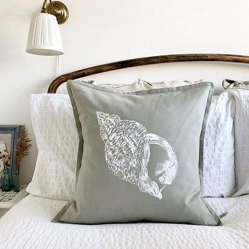 Seaview Shell Design Cushion