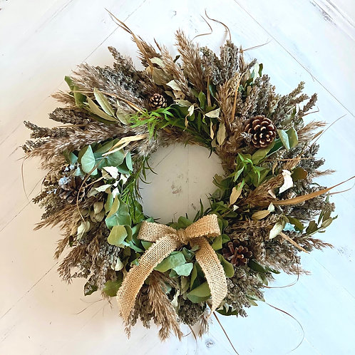 'St Helens' Autumnal Wreath