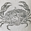 Thumbnail: Vintage Linen Cushion - 'I'm Not Crabby!'