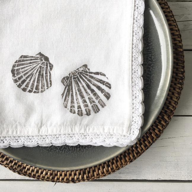 The Shell Design Flax Napkins