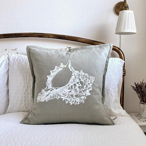 St Helens Shell Design Cushion