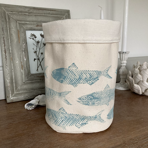 Sardine Cotton Storage Tub