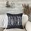 Thumbnail: Cotton 'Deep Ocean' Cushion