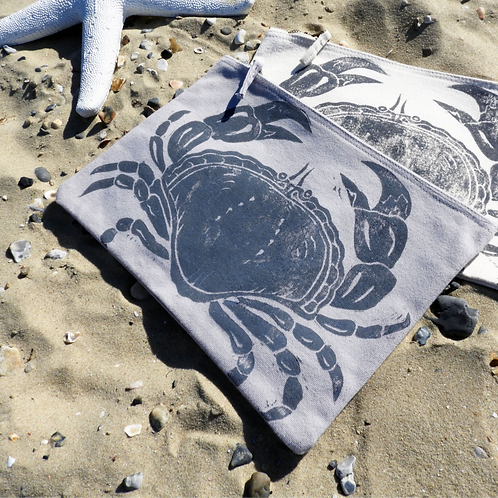 Grey Large Crab Case